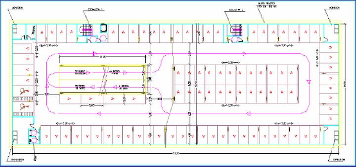 Dise o de estacionamientos subterraneos for Representacion arquitectonica pdf